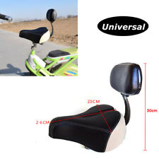 Breathable Comfortable Mountain Bicycle Seat Pad Cushion With Backrest Tricycle