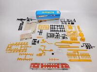 CN363-0,5# Kibri H0/1:87 50576 Bausatz Zugmaschine MB + Brücke ungebaut NEUW+OVP