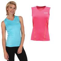 Regatta Vonda Womens Wicking Sports Active Fit Tee T-Shirt Blue Size 8