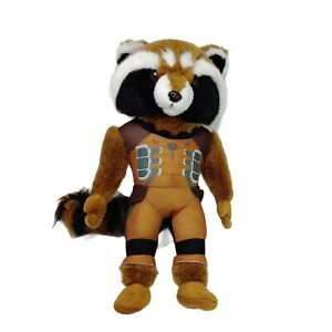 Marvel Guardians Of The Galaxy Rocket Raccoon Plush Soft Toy Washed Clean 37cm