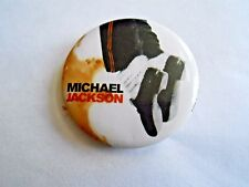 Cool Vintage Michael Jackson Number Ones Album Concert or Promo Souvenir Pinback