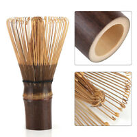 Ceremony Bamboo Chasen Japanese Powder Whisk Green Tea Preparing Matcha Brush HG
