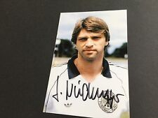 KURT NIEDERMAYER DFB In-Person signed Photo 10x15
