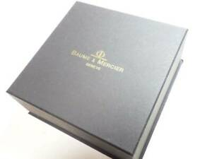 Baume & Mercier Watch Case Box only * Watch is not included.
