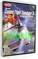 Gioco PC CD-ROM COMBAT FLIGHT SIMULATOR 3 BATTAGLIA PER L'EUROPA Microsoft 2002