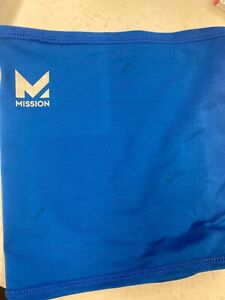 Mission Mask Blue Youth Size breathable buff