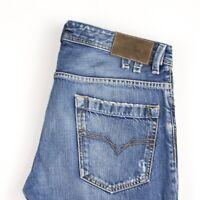 Diesel Herren Shazor Freizeit Slim Gerades Bein Jeans Größe W31 L32 AVZ99