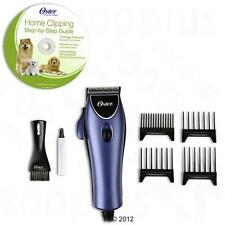 PET GROOMING Kit Dog Hair Cut Clipper Blade Machine OSTER Set Instructional DVD