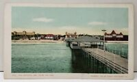 Maine 1904 Old Orchard ME, From the Pier UDB Postcard E9
