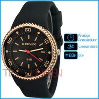 XONIX XAJ13Z/2 Damen Mädchen Sportlich Armbanduhr 100m BOX Top Qualität
