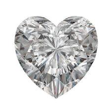 Lovely 6 X 6 MM 0.70 CT H-I Near White Heart Shape Cut Loose Moissanite 4 Ring