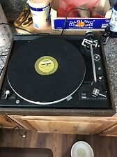 Vintage 1970s Dual 510 Belt Driven Made In Germany Turntable