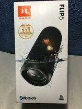 New JBL Flip 5 Portable Waterproof Wireless Bluetooth Speaker Midnight Black