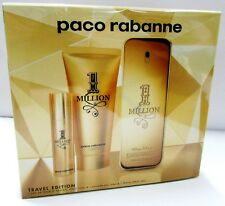 Paco Rabanne 1 Million SET 3 Pieces Men 100ml + 10ml Mini + 100ml Shwr Gel EDT