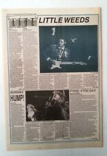 WHAM/GEORGE MICHAEL Glasgow concert review 1984  UK ARTICLE / clipping