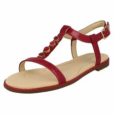 0e197609d22 Clarks Bay Blossom - Fuchsia Patent (pink) Womens Sandals 6 UK