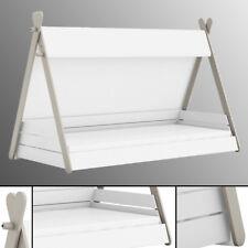 Kinderbett TIPI mit Lattenrost 90x200cm Jugendbett Bett Indianerzelt 200x90 Zelt