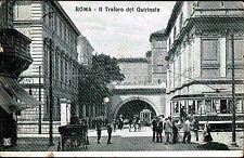 ROMA - Il Traforo del Quirinale - ANIMATA -TRAM-CARROZZA -VIAGGIATA - Rif. 46 PI