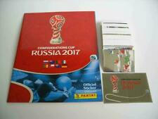 PANINI CONFEDERATIONS CUP 2017 COMPLETE STICKERS SET + EMPTY ALBUM
