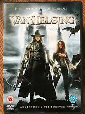 Hugh Jackman VAN HELSING ~ 2004 Universali Dracula Frankenstein Horror UK DVD
