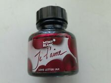 Montblanc Love Letter Ink – Je t'aime - Rudy Red from 2006