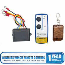 # 12 V kabellose Funkfernbedienung für Fahrzeug-Seilwinde