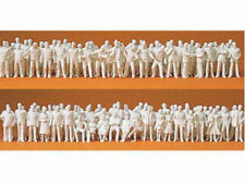 Preiser 80990 Reisende Passanten 190 Figuren unbemalt 1:200 Neu