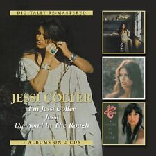 Jessi Colter - I'm Jessi Colter / Jessi / Diamond in the Rough [New CD] UK - Imp
