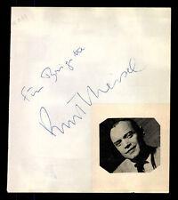 Kurt Meisel  (+1994) Original Signiert 50er Jahre + G 6943