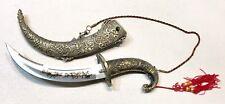 Vintage Estate Spanish Toledo Jambiya Karud Dagger Knife Scabbard