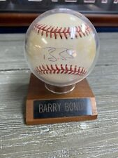 Barry Bonds Authentic  Autograph Signed Baseball