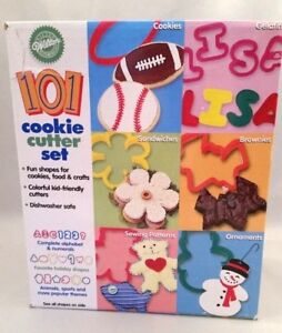 Wilton 94 Piece Cookie Cutter Set Shapes Cookies Crafts Food Kid Friendly