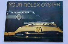 Your Rolex Oyster Daytona Booklet 1989