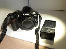Nikon  D3100 14.2MP Digital DSLR CAMERA BODY. Works- Viewfinder Dirty