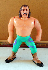 JAKE THE SNAKE ROBERTS WWF WRESTLING ACTION FIGURE HASBRO ? 1990 MADE IN CHINA