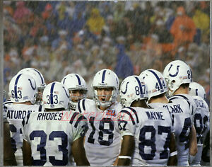NFL Indianapolis Colts Peyton Manning Game Day  Color 8 X 10 Photo Picture