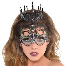 Ladies Girls Ursula Mermaid Villain Sea Siren Fancy Dress Crown Tiara Headdress