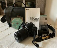 Nikon D D7000 16.2MP Digital SLR Camera - Black (with lens and bag)-Used