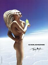 Publicité Advertising 089  2002  parfum Thierry Mugler  Cologne