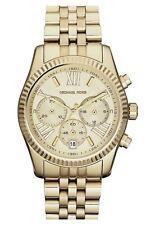 New Michael Kors MK5556 Lexington Chronograph Gold Designer Watch - UK Seller