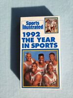 Sports Illustrated 1992 The Year In Sports (VHS, 1992) -- NEW