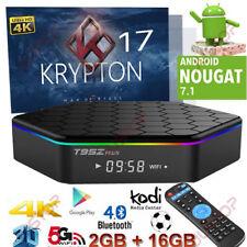 2017 NEW T95Z Octa Core Android 7.1 TV Box 2GB+16GB 17.4 4K HD Media Player HDMI