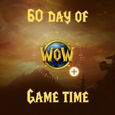 World of Warcraft - game time 60 days - Delivers in 3 days