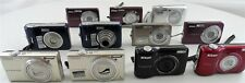 Mixed Lot of 11 Nikon Coolpix Digital Cameras for Parts or Repair
