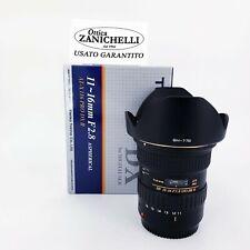 Obiettivo Tokina 11-16 mm f/2.8 AT-X Pro DX II X Canon - PARI AL NUOVO