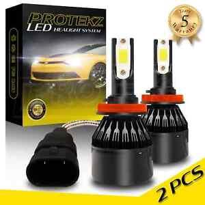 LED Headlight Protekz Kit Hi Beam H1 6000K CREE for 2011 - 2013 Kia SORENTO