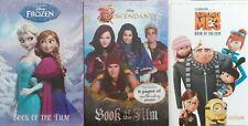 Despicable Me 3 Frozen Descendants Book Of The Films Paperbacks Disney
