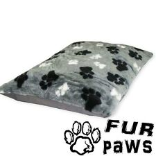 FUR PAWS – ANIMAL CUSHION. Medium Hollowfibre Pillows. Cozy Beds for Dogs & Cats