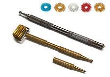 Sujok Acupressure Probe Metal Multipurpose (5 in 1) & Mini Roller Jimmys + Rings