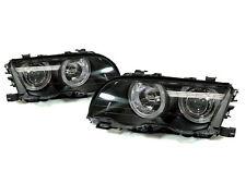 99-01 BMW E46 4DR SEDAN 5DR WAGON ANGEL EYES HALO EURO PROJECTOR HEADLIGHTS